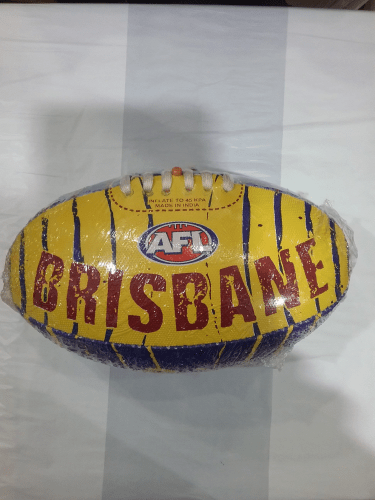 Footy Plus More Football Brisbane Lions Stinger Size 2 Football