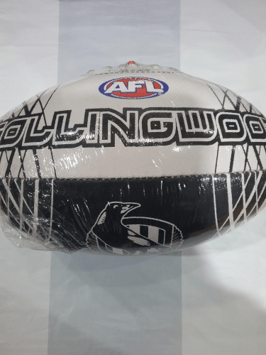 Footy Plus More Football Collingwood Magpies Size 5 Football