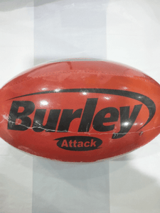 Footy Plus More Football Football Size 5 Burley Red