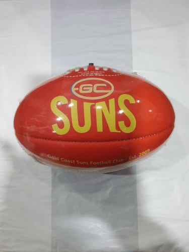 Footy Plus More Football Gold Coast Suns Size 1 Football