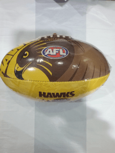 Footy Plus More Football Hawthorn Hawks Size 2 Football