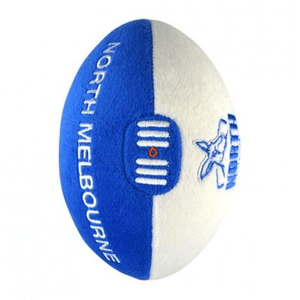 Footy Plus More Football North Melbourne 18CM Soft Plush Footy