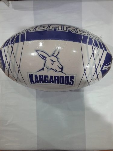 Footy Plus More Football North Melbourne Kangaroos Stinger Size 5 Football
