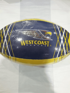 Footy Plus More Football West Coast Eagles Size 5 Football