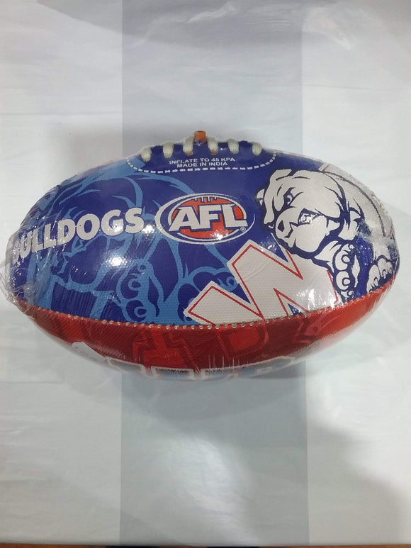 Footy Plus More Football Western Bulldogs Size 2 Football
