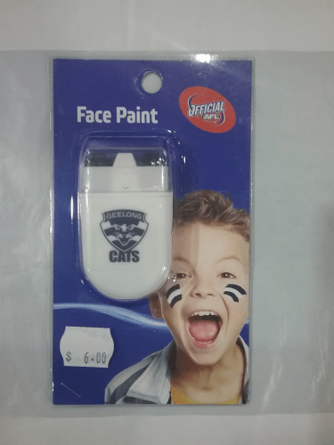 Footy Plus More GAME DAY Geelong Cats Face Paint