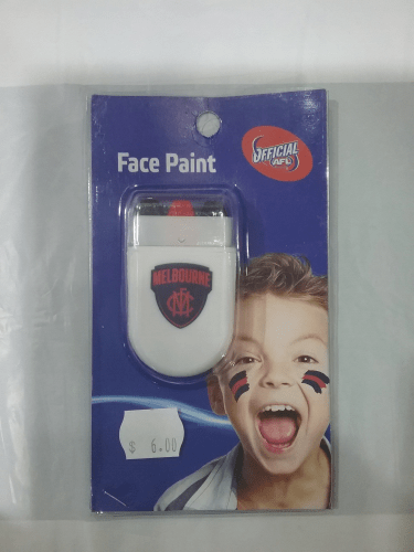 Footy Plus More GAME DAY Melbourne Demons Face Paint