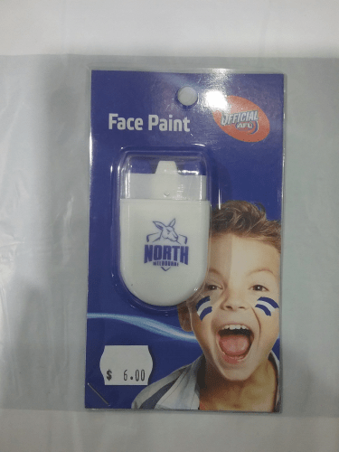 Footy Plus More GAME DAY North Melbourne Kangaroos Face Paint
