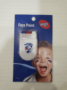 Footy Plus More GAME DAY Western Bulldogs Face Paint