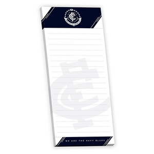 Footy Plus More general Carlton Blues Note Pad