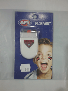 Footy Plus More general Essendon Bombers Face Paint