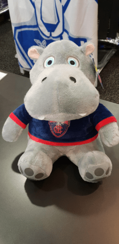 Footy Plus More general Melbourne Demons Hippo Doorstop