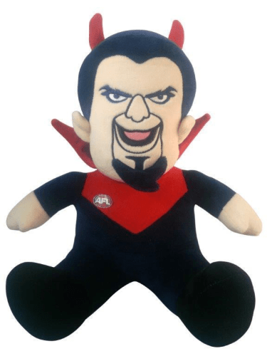 Footy Plus More general Melbourne Demons Mascot Doorstop
