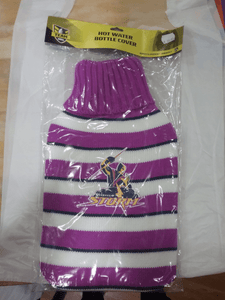 Footy Plus More general Melbourne Storm hot water bottle cover
