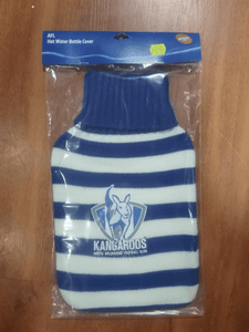 Footy Plus More general North Melbourne Kangaroos Hot Water Bottle Cover