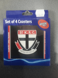 Footy Plus More general St Kilda Saints Set of 4 Coasters
