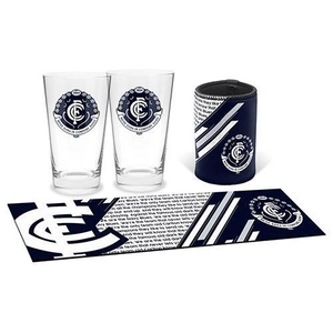 Footy Plus More Gift Pack Carlton Blues Bar Essentials Gift Pack