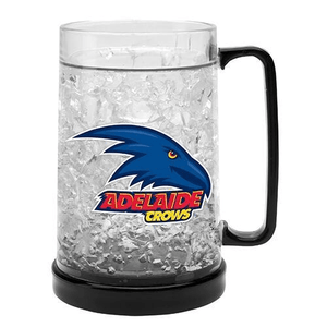 Footy Plus More Glassware Adelaide Crows Ezy Freeze Mug