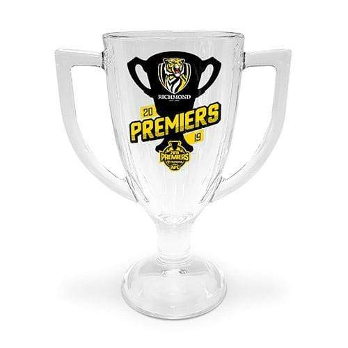 Footy Plus More Glassware Richmond Tigers 2019 Premiers Trophy Glass Phase 1