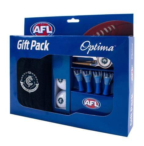 Footy Plus More golf Gift Pack Carlton Blues Golfers Gift Pack