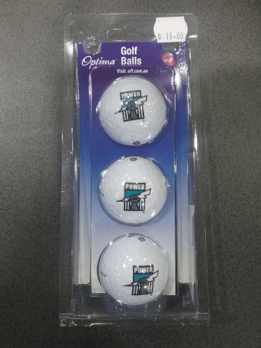Footy Plus More golf Port Adelaide Power Golf Balls
