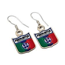 Footy Plus More Jewelry earrings Fremantle Dockers Coloured Retro Earrings