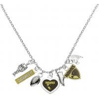 Footy Plus More Jewelry Hawthorn Hawks Charm necklace