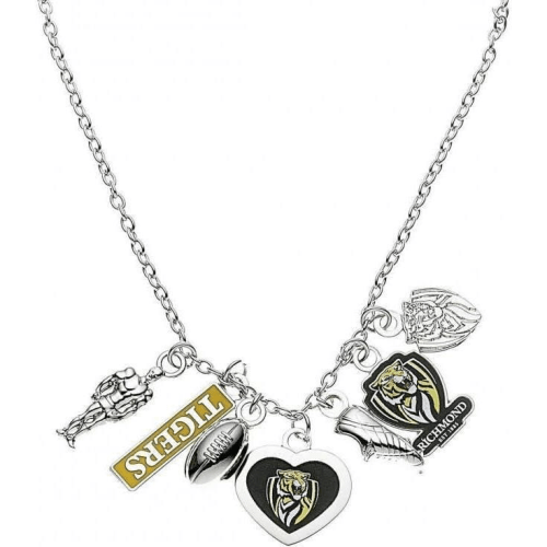 Footy Plus More Jewelry Richmond Tigers Charm Necklace
