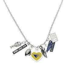 Footy Plus More Jewelry West Coast Eagles Charm Necklace Retro Logo