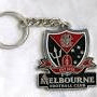 Footy Plus More Keyrings Melbourne Demons Retro Metal Key Ring