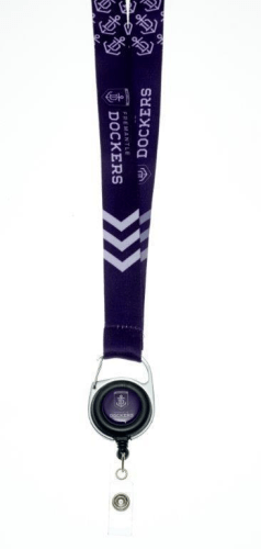 Footy Plus More LANYARD Fremantle Dockers lanyard
