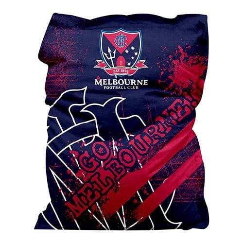 Footy Plus More MANCHESTER Melbourne Demons Giant Bean Bag