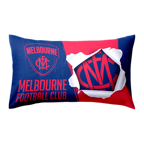 Footy Plus More MANCHESTER Melbourne Demons Pillow Case