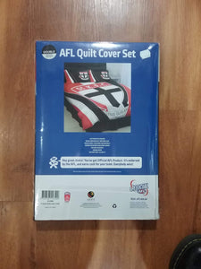 Footy Plus More MANCHESTER St Kilda Saints DoubleBed Quilt Cover