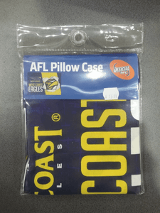 Footy Plus More MANCHESTER West Coast Eagles Pillow Case