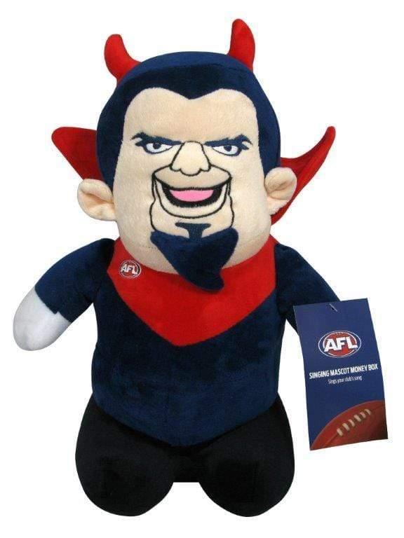 Footy Plus More money box Melbourne Demons Musical Money Box