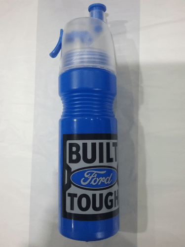 Footy Plus More + More Ford Built Tough Misting Water Bottle