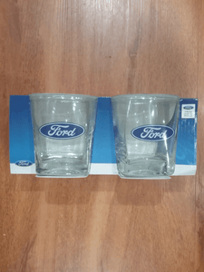 Footy Plus More + More Ford Set of 2 Spirit Glasses