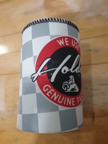 Footy Plus More + More Holden Genuine Parts Can Cooler Stubby Holder