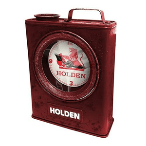 Footy Plus More + More Holden Heritage Jerry Can Clock