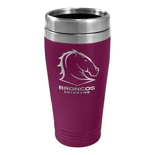 Footy Plus More mug Brisbane Broncos Stainless Steel Travel Mug