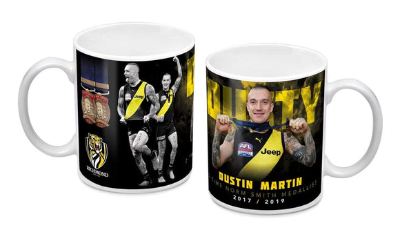 Footy Plus More mug Dustin Martin Richmond Tigers Norm Smith Mug