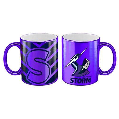 Footy Plus More mug Melbourne Storm Metallic Mug
