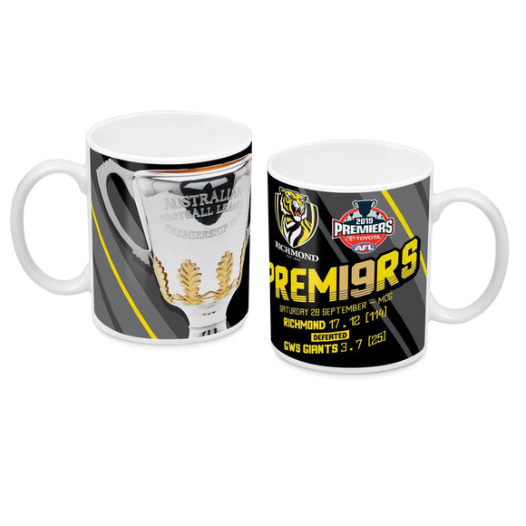 Footy Plus More mug Richmond Tigers 2019 Premiers Mug Phase 1