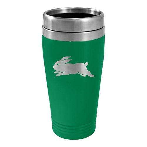Footy Plus More mug South Sydney Rabbitohs Stainless Steel Travel Mug