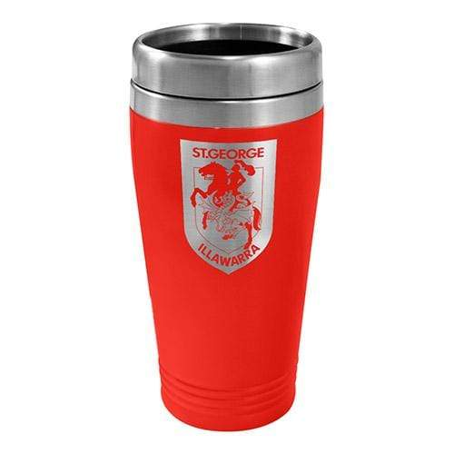 Footy Plus More mug St George Illawarra Dragons Stainless Steel Travel Mug