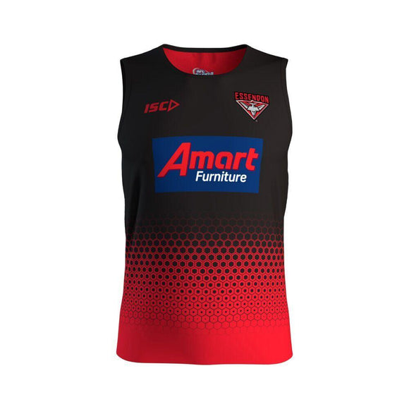 Footy Plus More on field clothing Essendon Bombers ISC Training Singlet 2019