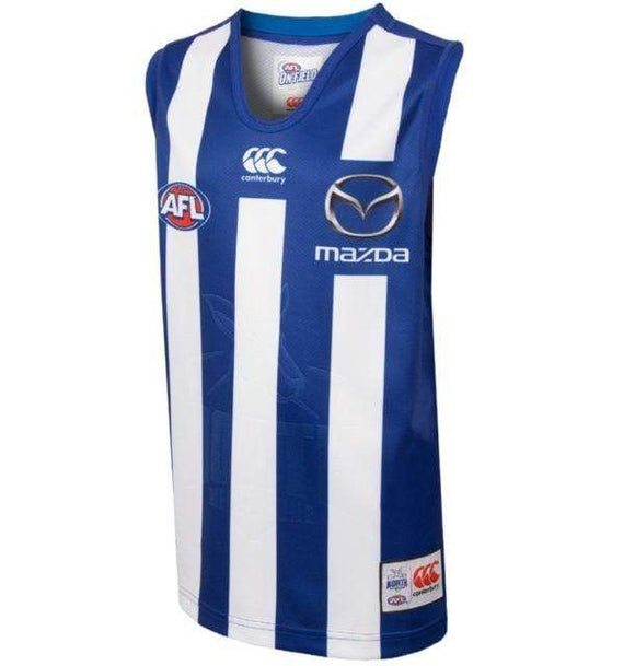 Footy Plus More on field clothing Size 2XL North Melbourne Kangaroos 2018 Adult On Field Guernsey