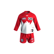 Footy Plus More on field clothing Sydney Swans 2019 ISC Toddlers Home Guernsey Set Red