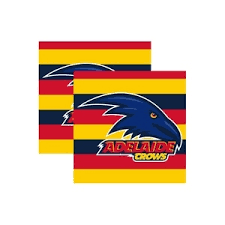 Footy Plus More Party Adelaide Crows Party Napkins Logo 16 Pack